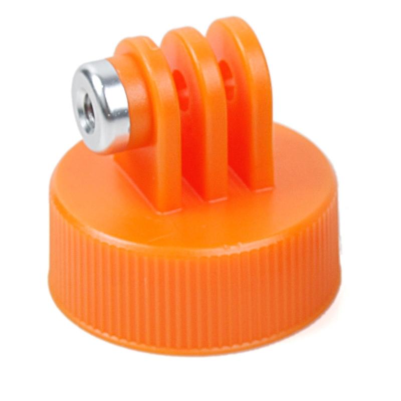 TMC HR383 surfen Plastic fles Top Mount statief Adapter houder voor GOPRO HERO4 sessie /4 /3+/3 /2 /1  binnendiameter: 28.5mm(Oranje)