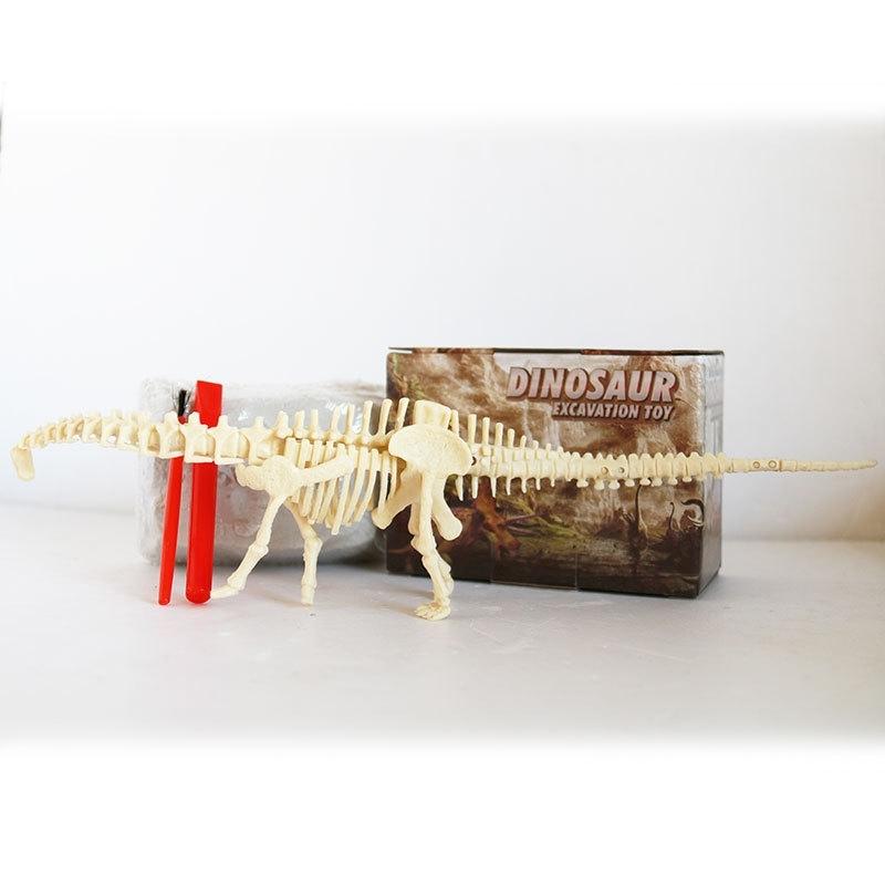 Afbeelding van Geassembleerde Diplodocus skelet archeologische opgraving speelgoed simulatie fossiele Model handmatige speelgoed