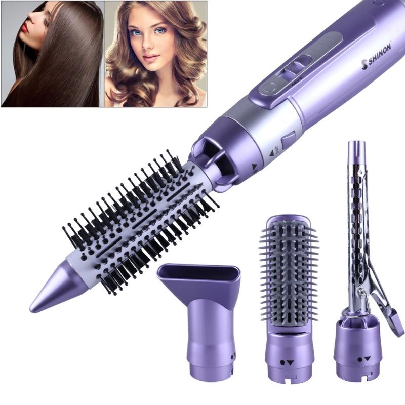 Afbeelding van Multifunctionele kapsel ingesteld Hair Dryer Hair kam haar krultang sluik haar kam