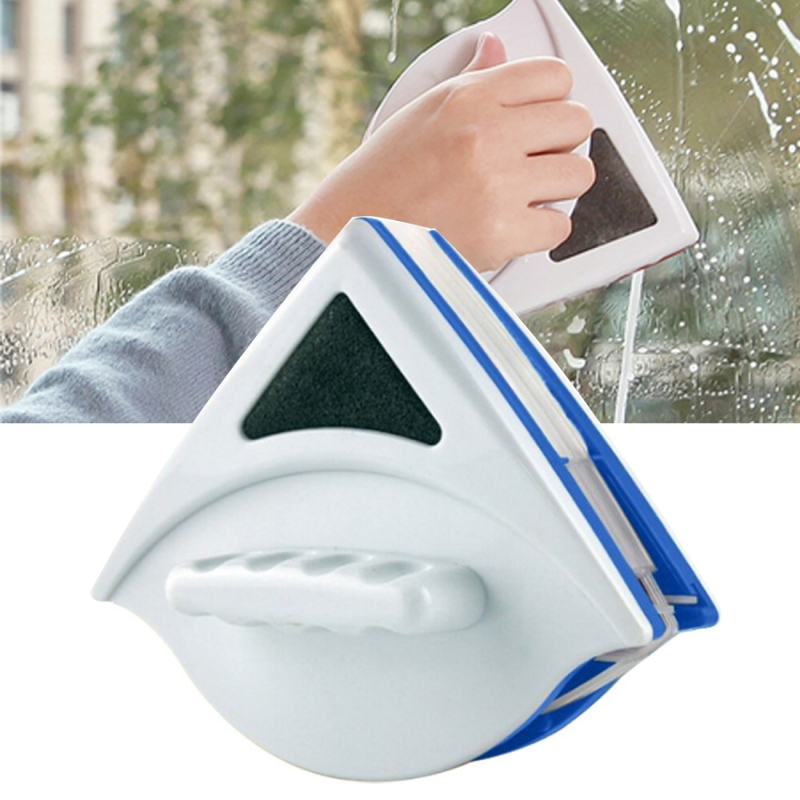 Useful Double Side Glass Wiper Cleaning Brushes Window Cleaner  Applicative Range: 3-8mm Glass