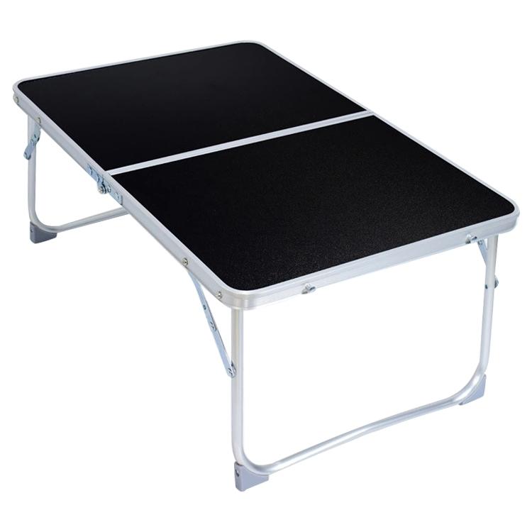 Afbeelding van Plastic Mat verstelbare draagbare Laptop tafel opklapbare Stand Computer lezing Desk Bed Tray (zwart)