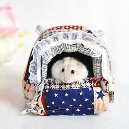 Afbeelding van Huisdier rits wasbaar huisdier huisdieren huis Warm Nest gedrukt zacht Bed opvouwbare spons Nest M grootte: 20 * 18 * 14cm