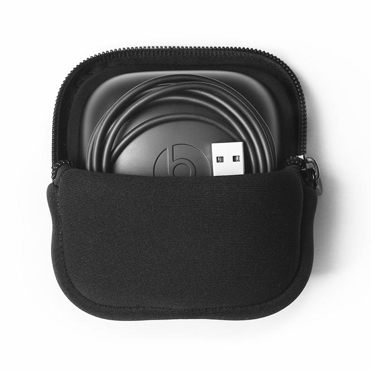 Afbeelding van Draadloze sport Bluetooth oortelefoon zachte beschermende tas opbergdoos voor beats Power beats Pro