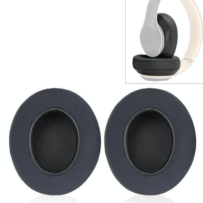 Afbeelding van 2 stuks voor beats Studio 2 0/3 0 hoofdtelefoon beschermende cover Ice gel earmuffs (Titanium kleur)