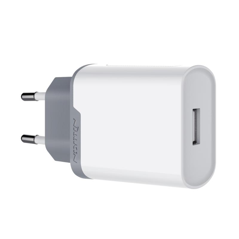 Afbeelding van NILLKIN Power Adapter 18W Quick Charge 3.0 één poort USB reislader EU Plug voor Apple iPhone iPad Galaxy HTC Nexus Moto Blackberry Power Bank en meer