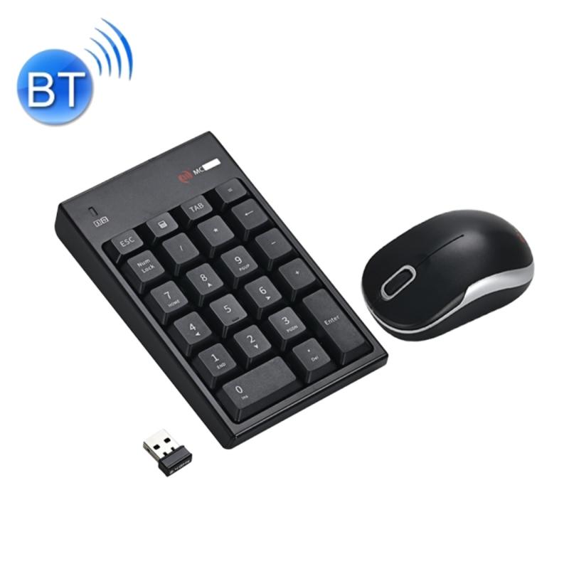 Afbeelding van MC Saite MC-61CB 2.4GHz draadloze muis + 22 sleutels numerieke Pan Keyboard met USB-aansluiting Set voor Computer PC Laptop (zwart)