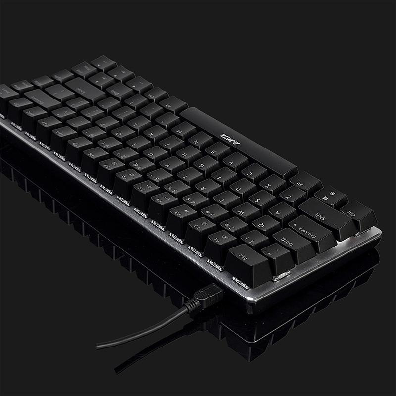 Afbeelding van Ajazz 82 Toetsen Laptop Computer Gaming Mechanisch Toetsenbord (Black Shaft)