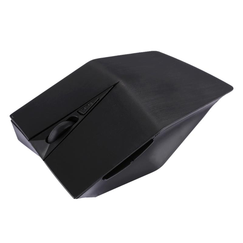 Afbeelding van 2.4GHz USB-ontvanger verstelbare 1200 DPI draadloze optische muis voor Computer PC Laptop (zwart)
