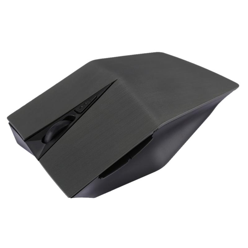 Afbeelding van 2.4GHz USB-ontvanger verstelbare 1200 DPI draadloze optische muis voor Computer PC Laptop (grijs)