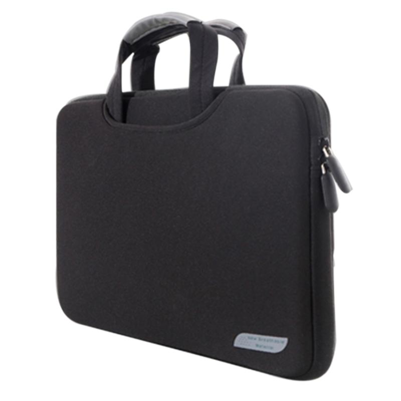 Afbeelding van 15 6 inch draagbare permeabele Handheld mouw airbag voor Laptops grootte: 41.5x30.0x3.5cm(Black)