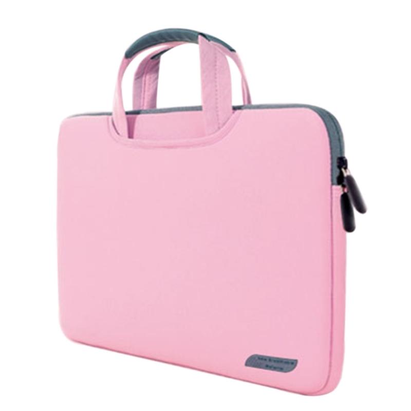 Afbeelding van 15 6 inch draagbare permeabele Handheld mouw airbag voor Laptops grootte: 41.5x30.0x3.5cm(Pink)