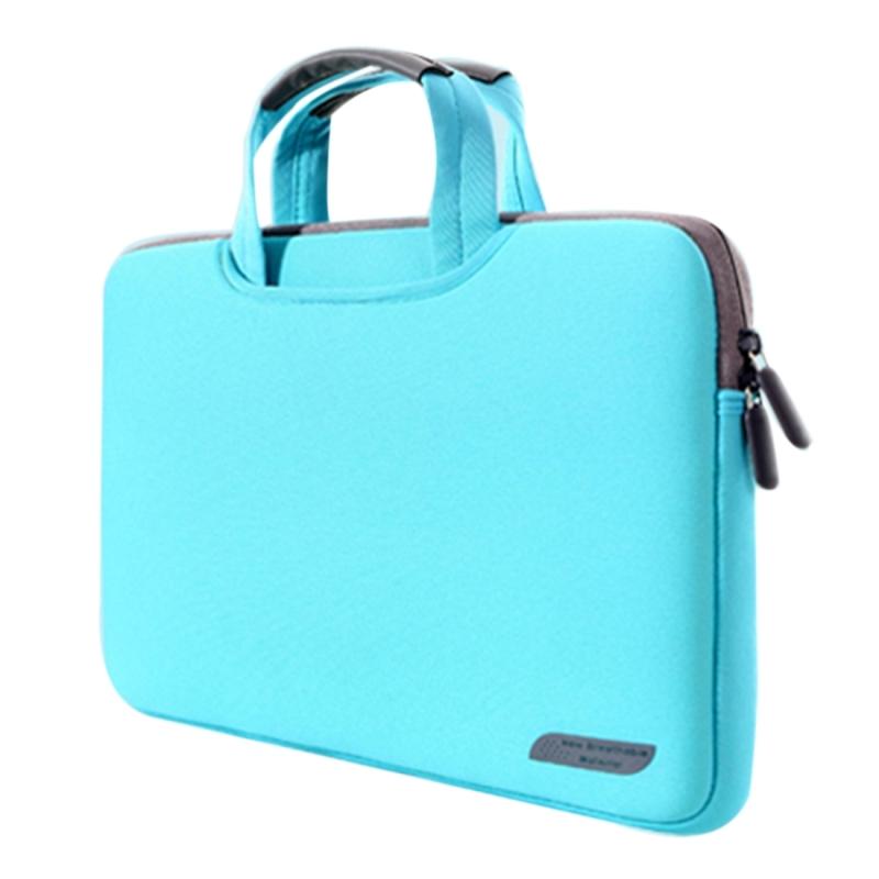 Afbeelding van 15 6 inch draagbare permeabele Handheld mouw airbag voor Laptops grootte: 41.5x30.0x3.5cm(Green)