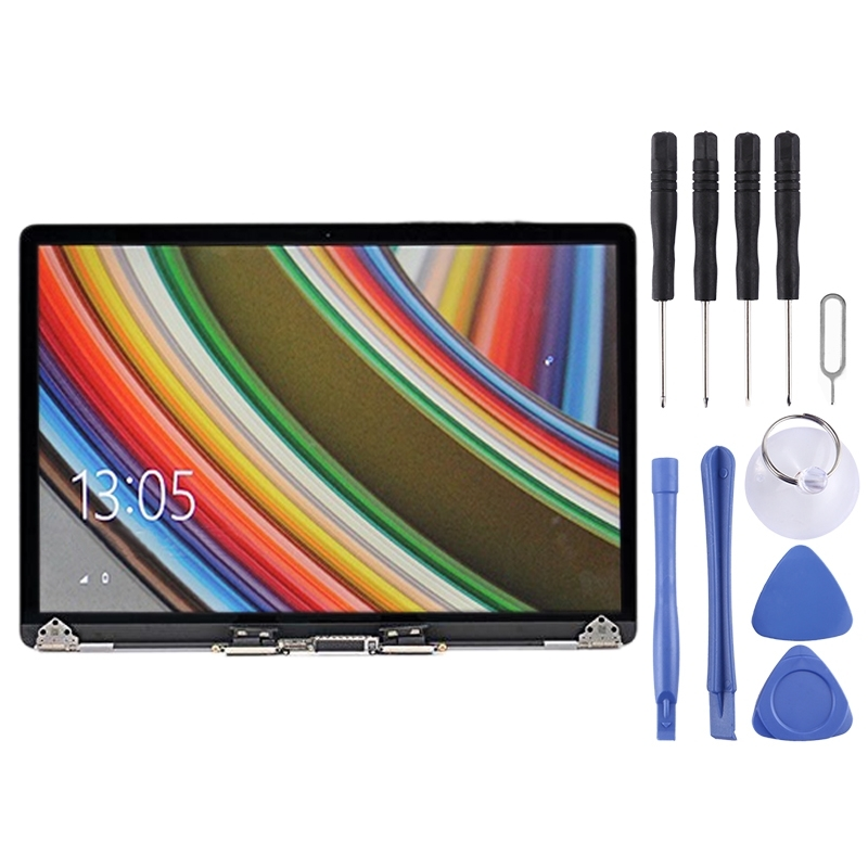 Full LCD Display Screen for MacBook Pro 15.4 inch A1990 (2018)(Grey)