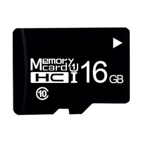 16GB hoge snelheid Class10 Black TF (micro SD) geheugenkaart