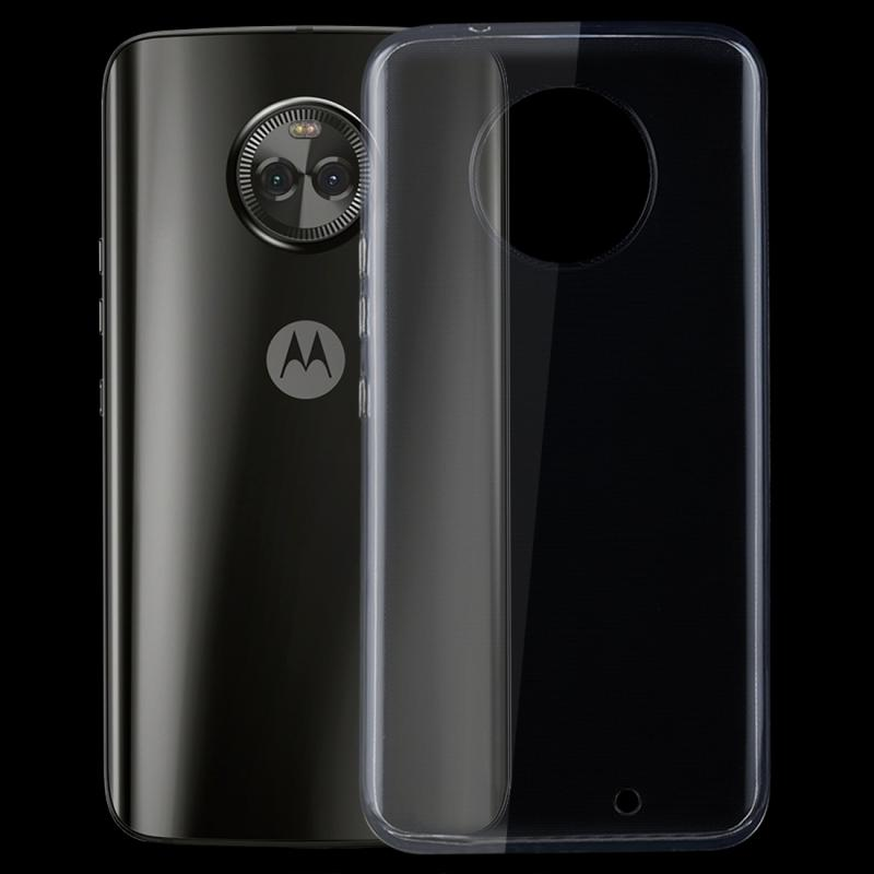 Afbeelding van 0 75 mm transparant TPU Case voor Motorola Moto X4