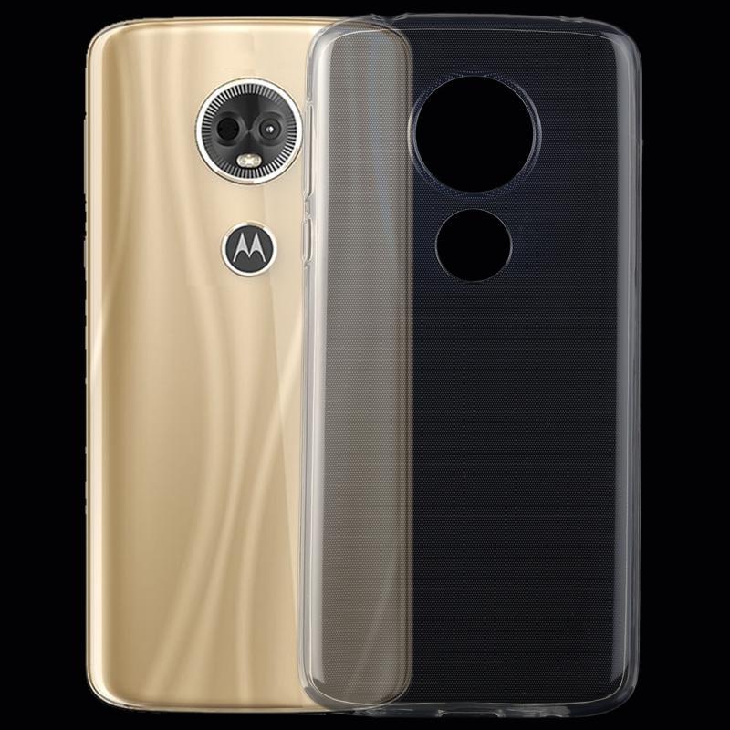 Afbeelding van 0 75 mm transparant TPU Case voor Motorola Moto E5 Plus