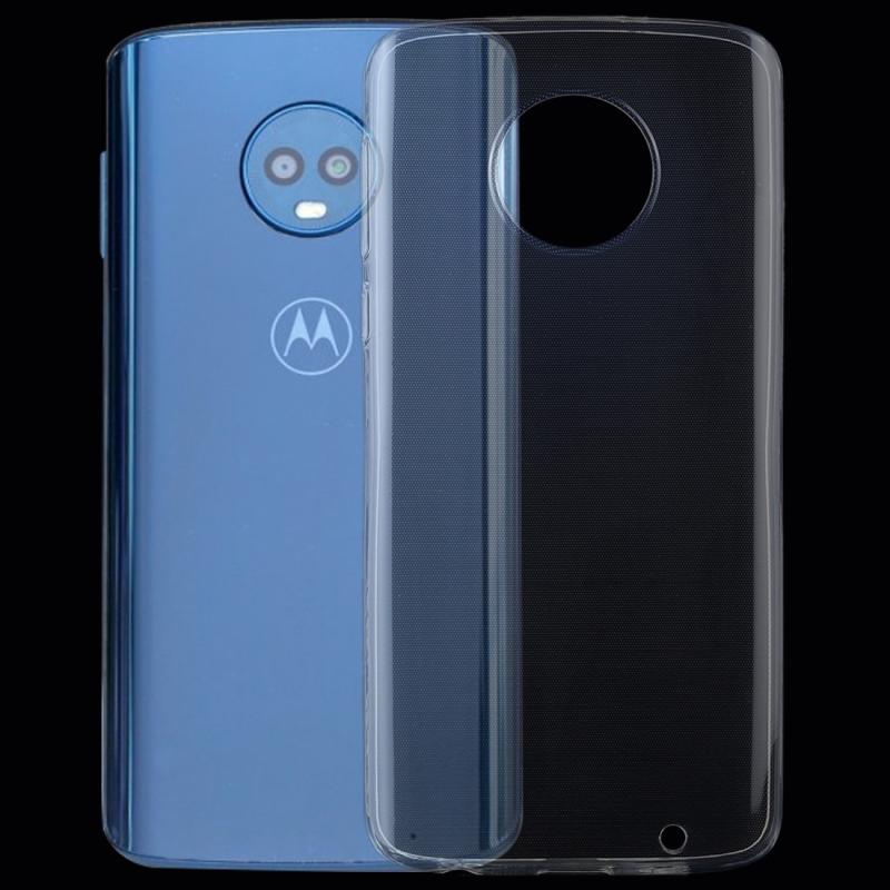 Afbeelding van 0 75 mm transparant TPU Case voor Motorola Moto G6 Plus