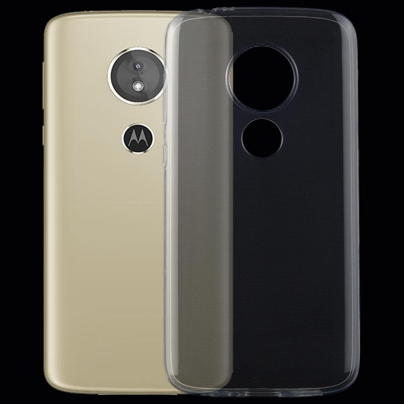 Afbeelding van 0 75 mm transparant TPU Case voor Motorola Moto E5