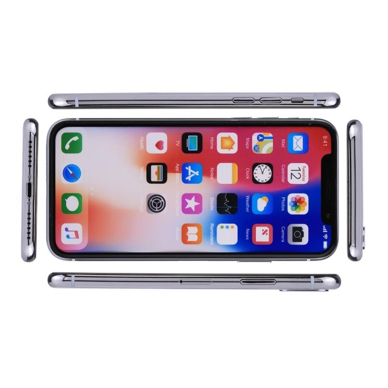 Voor iPhone X kleur scherm niet-werkende Fake Dummy Display Model(White)