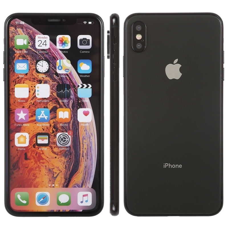 Color Screen Non-Working Fake Dummy Display Model for iPhone XS Max (Black)