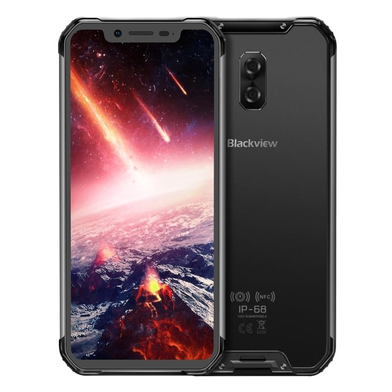 Afbeelding van Blackview BV9600 Pro, 6 GB + 128 GB, IP68/IP69K waterdicht stofdicht schokbestendige, Dual back camera, 5580mAh batterij, ID & voorzijde gemonteerde fingerprint identificatie, 6.21 inch Android 8.1 Helio P60 (MTK6771) Octa Core tot 2.0 GHz, NFC, Wireless