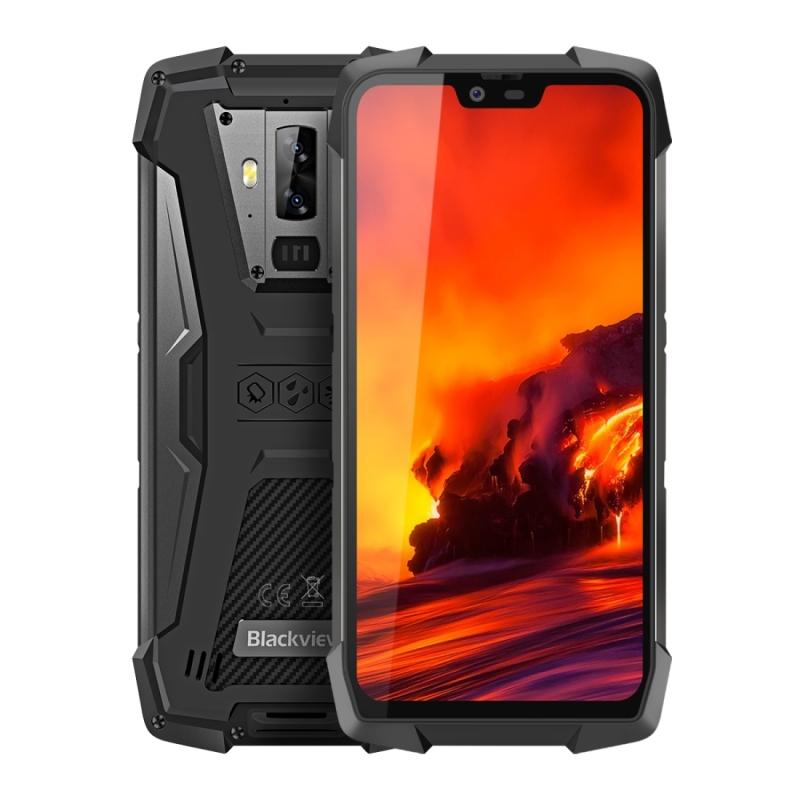 Afbeelding van Blackview BV9700 Pro 6GB + 128GB IP68/IP69K waterdichte stof schokbestendige Dual back camera's 4380mAh batterij gezicht ID & Side-Mounted vingerafdruk identificatie 5 84 inch Android 9 0 Pie Helio P70 (MTK6771) de kern van de van tot 2.1 GHz NFC