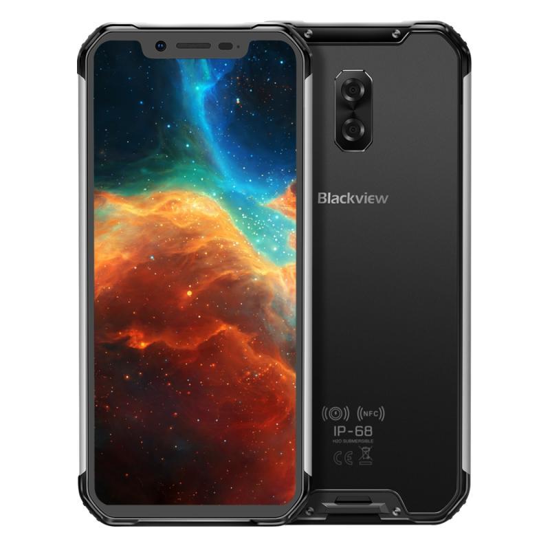 Afbeelding van Blackview BV9600 4GB + 64GB IP68/IP69K waterdicht stofdicht schokbestendig Dual terug camera's 5580mAh batterij Face ID & aan de zijkant gemonteerde vingerafdruk identificatie 6 21 inch Android 9 Helio P70 (MTK6771T) OCTA core tot 2 1 GHz NFC draa