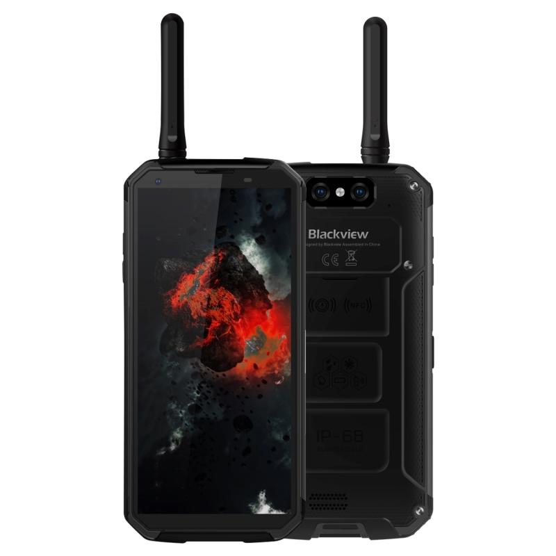 Afbeelding van Blackview BV9500 Pro robuuste telefoon, 6 GB + 128 GB, IP68 waterdichte stofdicht Shockproof Walkie-talkie, Dual back camera, 10000mAh batterij, kant plaats vingerafdruk identificatie, 5.7 inch Android 8.1 Helio P23 (MT6763T) Octa Core tot 2.5 GHz, NFC, d