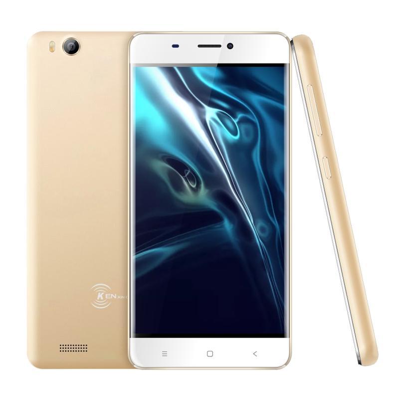 Afbeelding van KEN XIN DA V5 1 GB + 8 GB 4 0 inch Android 7.0 SC7731C Quad Core maximaal 1 2 GHz GPS netwerk: 3 G dubbele SIM(Gold)
