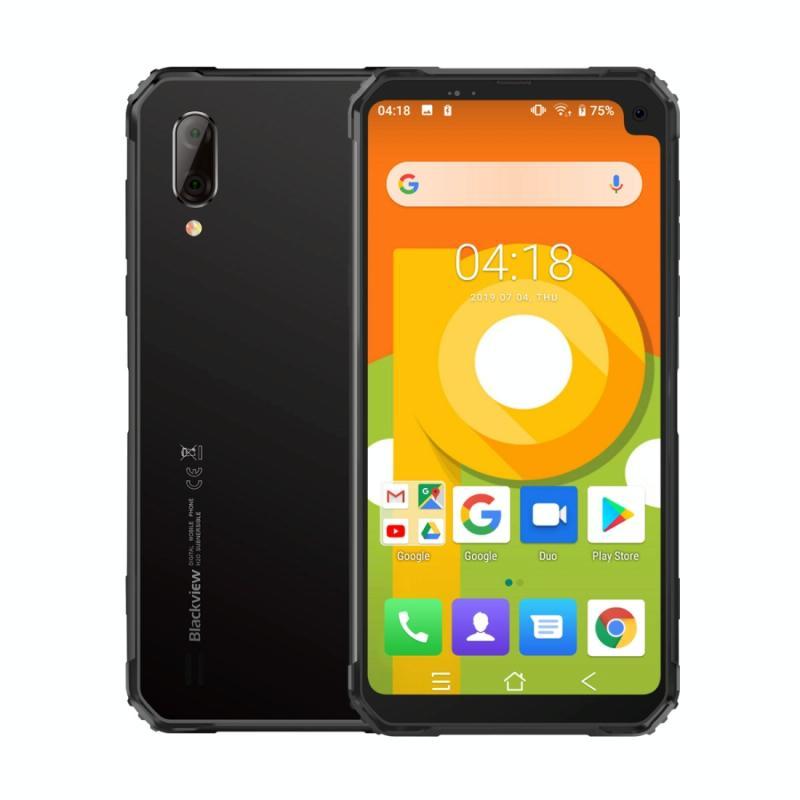 Afbeelding van Blackview BV6100 3GB + 16GB IP68 waterdicht stofdicht schokbestendig 5580mAh batterij 6 8 inch Android 9 0 MTK6761 Quad-Core tot 2 0 GHz netwerk: 4G OTG NFC (grijs)