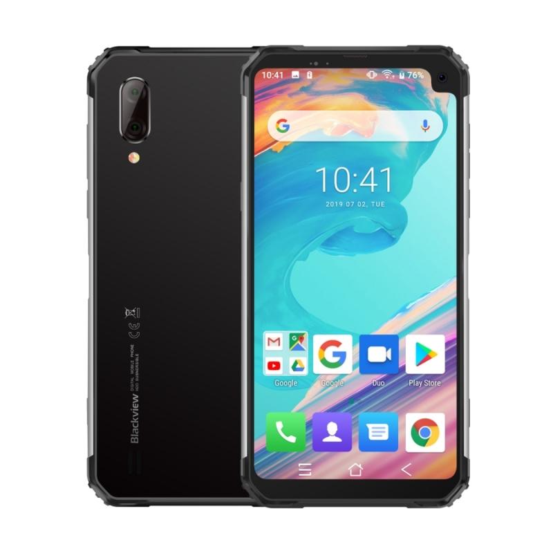 Afbeelding van Blackview BV6100 3GB + 16GB IP68 waterdicht stofdicht schokbestendig 5580mAh batterij 6 8 inch Android 9 0 MTK6761 Quad-Core tot 2 0 GHz netwerk: 4G OTG NFC (zilver)
