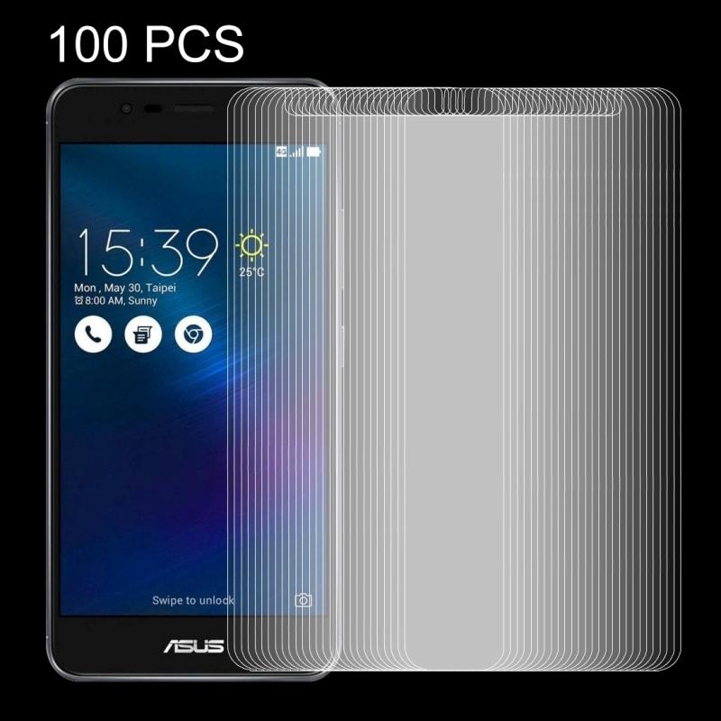 Afbeelding van 100 stuks voor 5.5 inch Asus ZenFone 3 Max / ZC553TL 0 26 mm 9H oppervlakte hardheid Explosieveilig niet-volledig scherm getemperd glas scherm Film