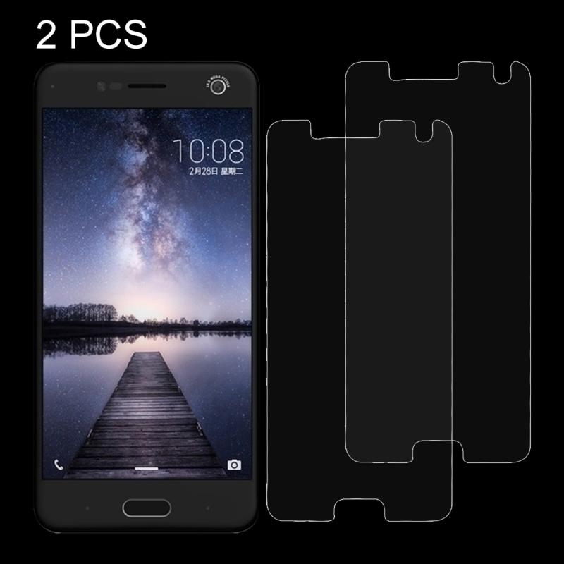 2 PC's ZTE Blade V8 0 26 mm 9H oppervlaktehardheid Explosieveilig niet-volledig scherm getemperd glas scherm Film