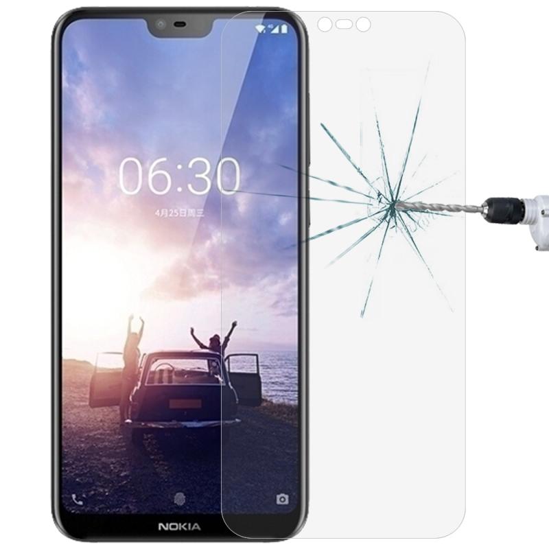 Afbeelding van 0 26 mm 9H 2.5D getemperd glas Film voor Nokia X6