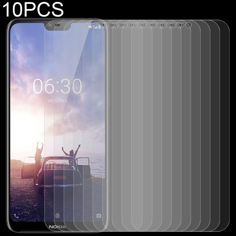 Afbeelding van 10 stuks 0 26 mm 9H 2.5D getemperd glas Film voor Nokia X 6