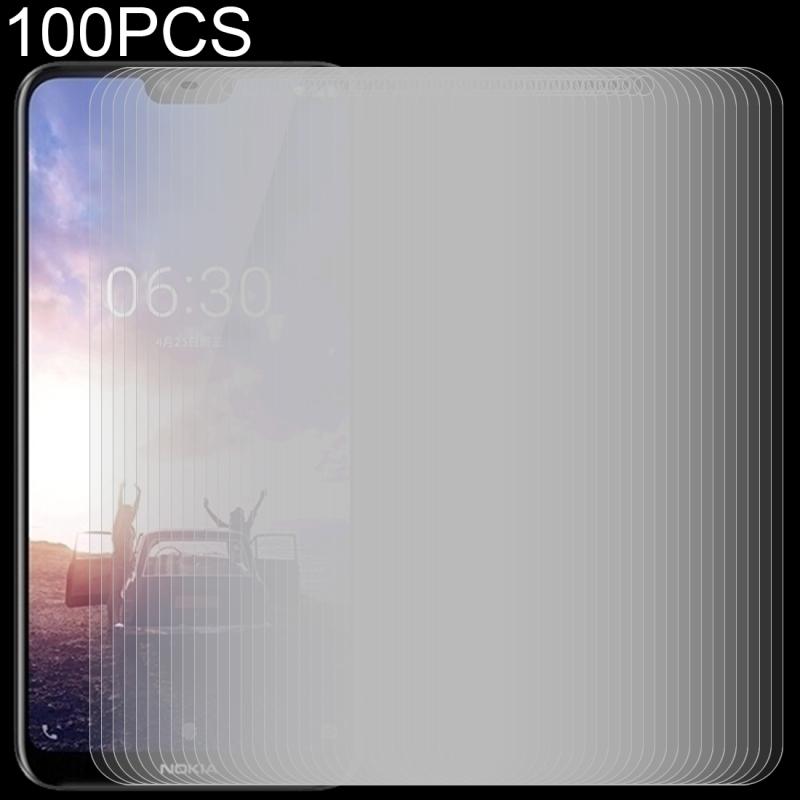 Afbeelding van 100 stuks 0 26 mm 9H 2.5D getemperd glas Film voor Nokia X 6