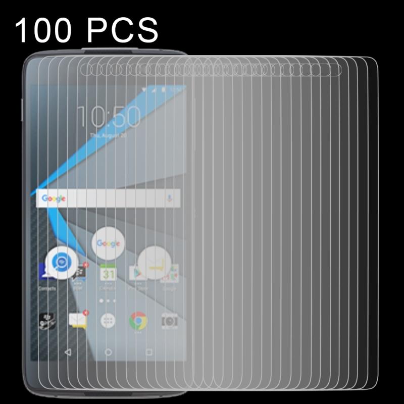 Afbeelding van 100 stuks 0 26 mm 9H 2.5D getemperd glas Film voor Blackberry DTEK50
