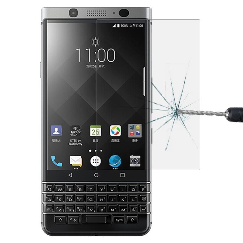 Afbeelding van 0.26 mm 9H oppervlakte hardheid 2.5 D gebogen rand gehard glas screen protector voor BlackBerry Keytwo