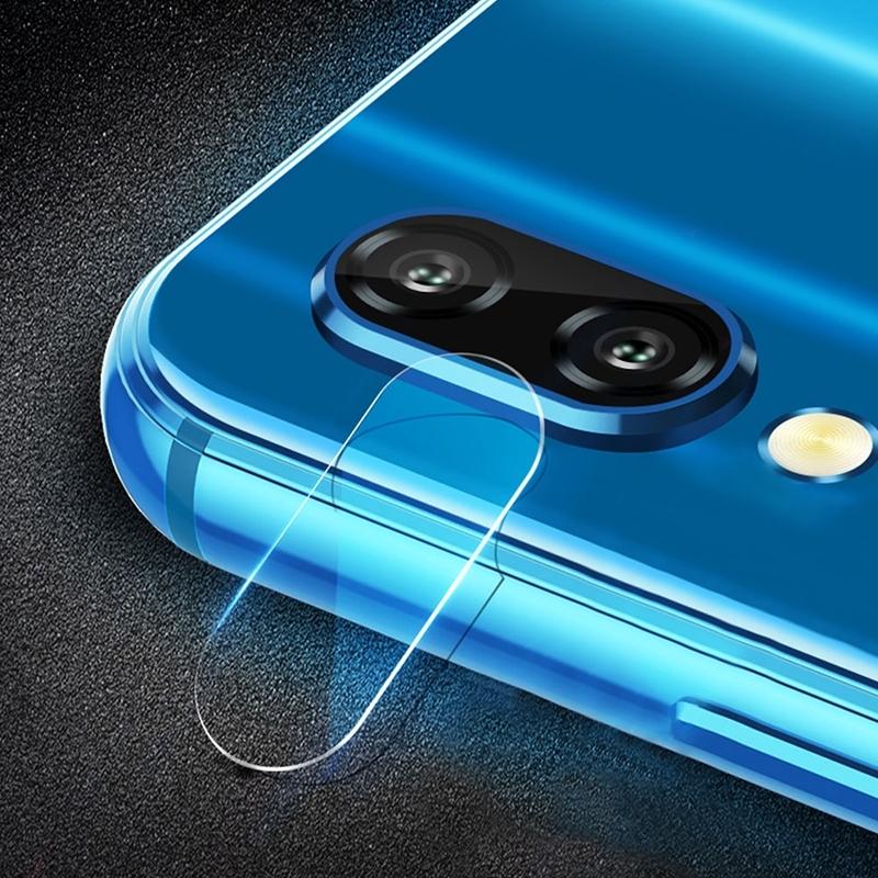 Afbeelding van 0.3mm 2.5D transparante achterkant Camera Lens Protector getemperd glas Film voor Galaxy M20
