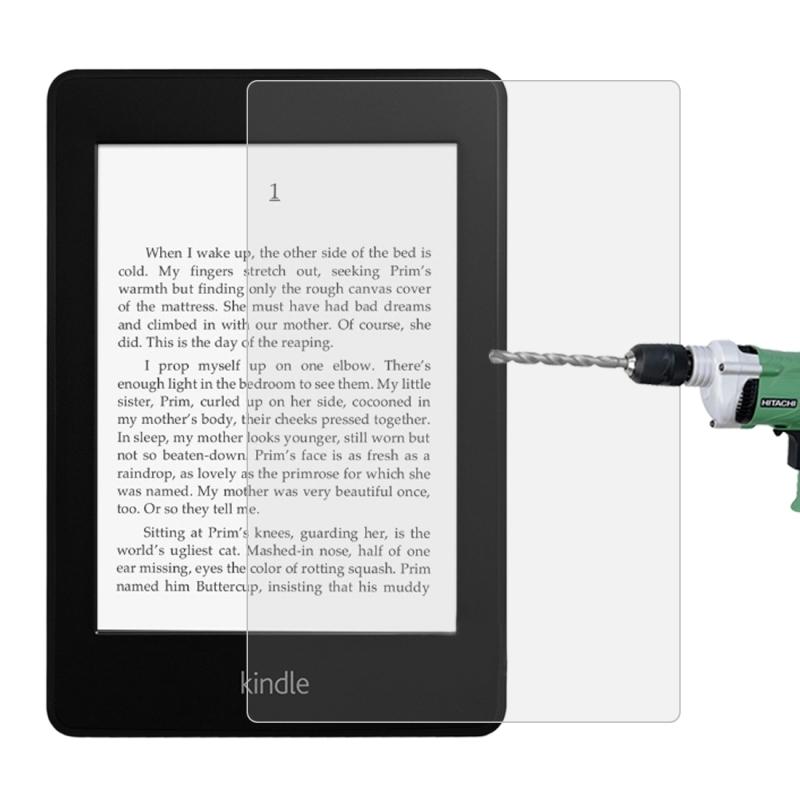 Afbeelding van 9u 2.5 D Frosted explosie-proof getemperd glas film voor Amazon Kindle Paperwhite Lite