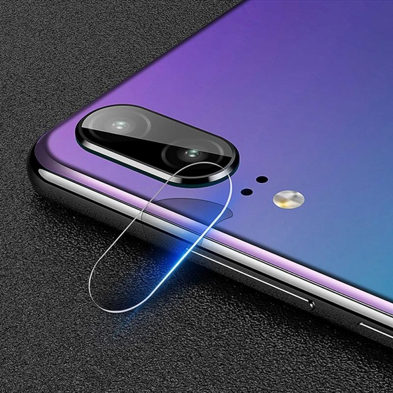Afbeelding van 0.3mm 2.5D transparante achterkant Camera Lens Protector getemperd glas beschermfolie voor Huawei P20
