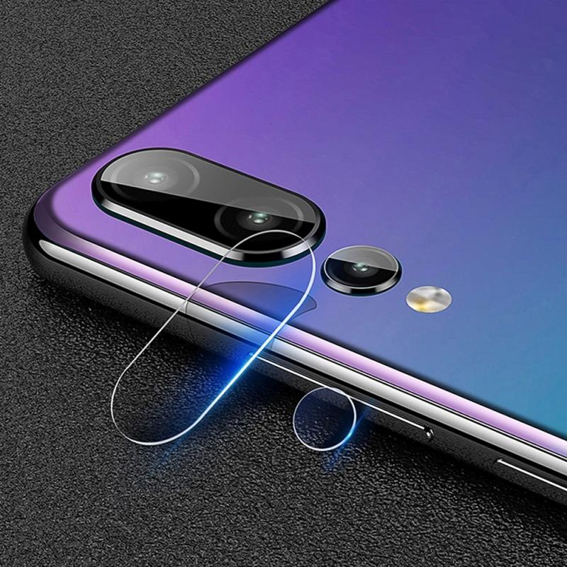 Afbeelding van 0.3mm 2.5D transparante achterkant Camera Lens Protector getemperd glas beschermfolie voor Huawei P20 Pro