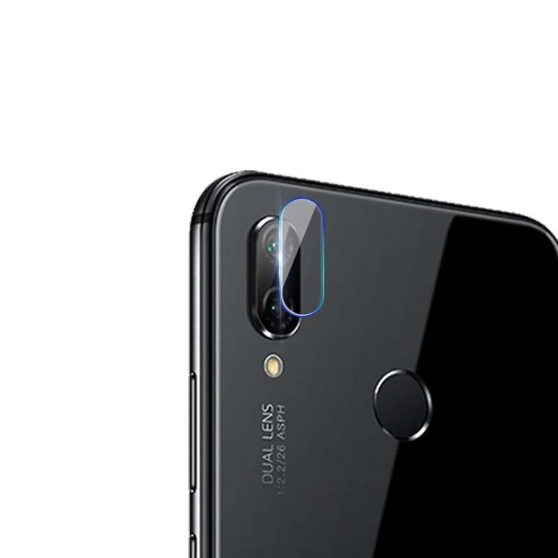 Afbeelding van 0.3mm 2.5D transparante achterkant Camera Lens Protector getemperd glas beschermfolie voor Huawei P20 Lite