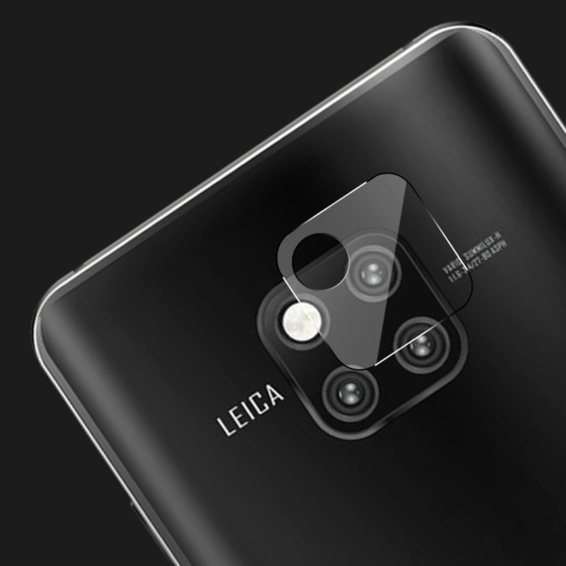 Afbeelding van 0.3mm 2.5D transparante achterkant Camera Lens Protector getemperd glas beschermfolie voor Huawei Mate 20 Pro