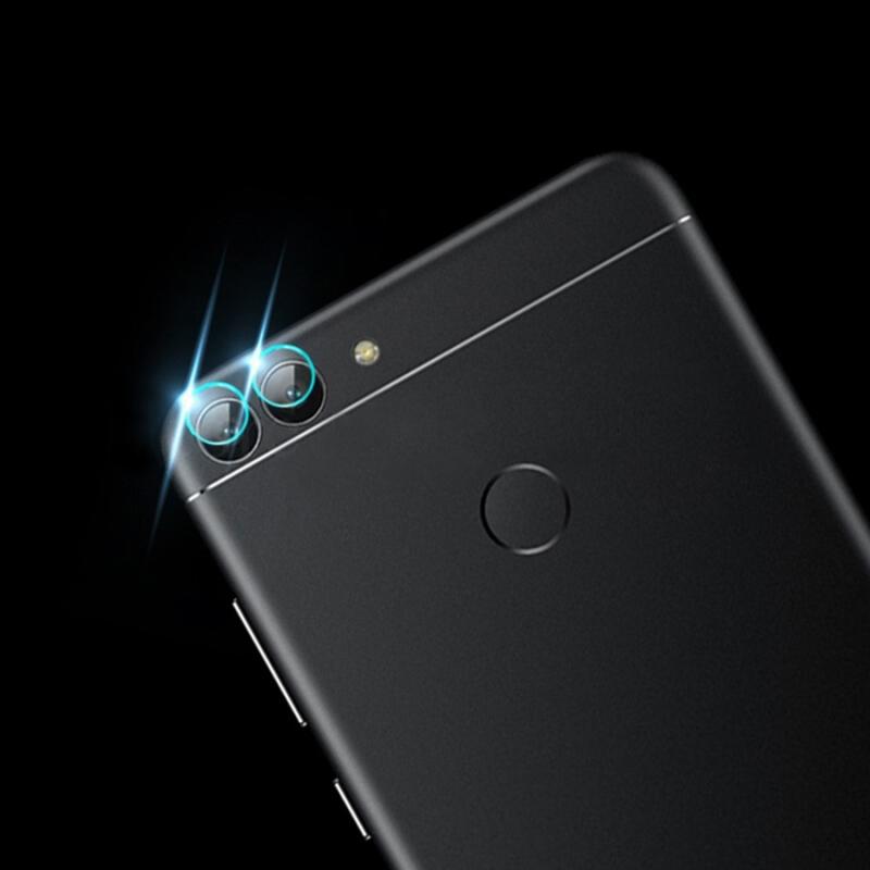 Afbeelding van 0.3mm 2.5D transparante achterkant Camera Lens Protector getemperd glas beschermfolie voor Huawei genieten van 8 Plus