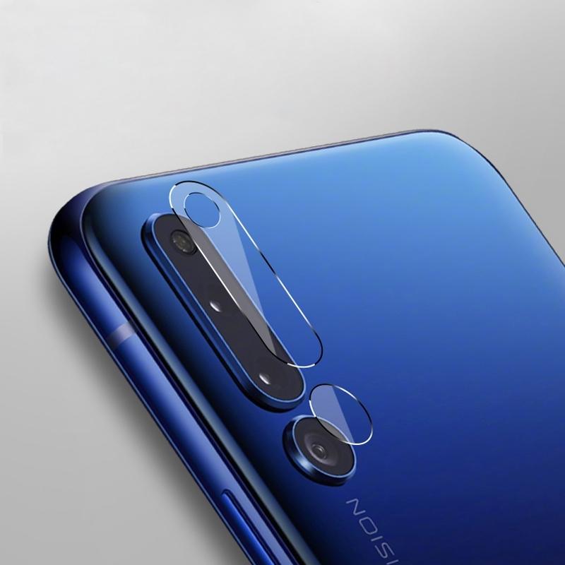 Afbeelding van 0.3mm 2.5D transparante achterkant Camera Lens Protector getemperd glas beschermfolie voor Huawei Honor Magic 2