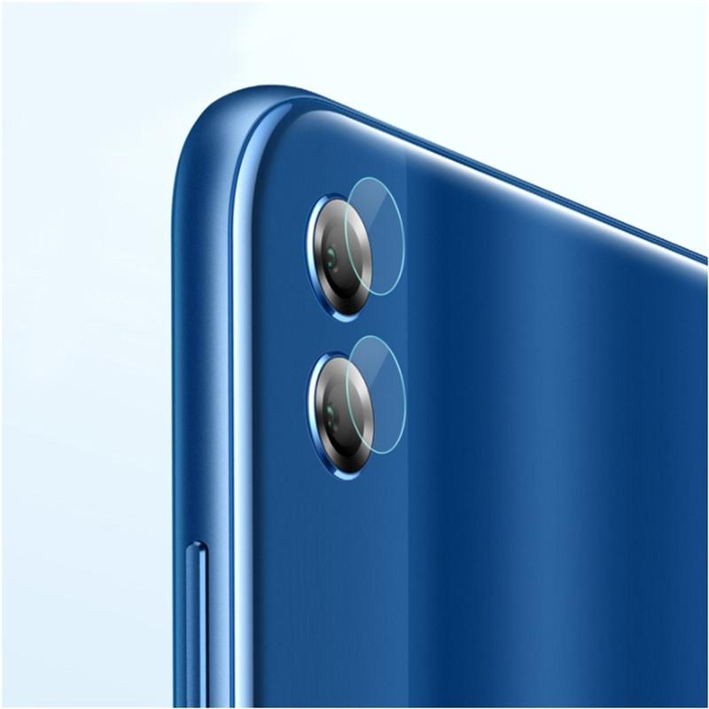 Afbeelding van 0.3mm 2.5D transparante achterkant Camera Lens Protector getemperd glas beschermfolie voor Huawei Honor 8 X