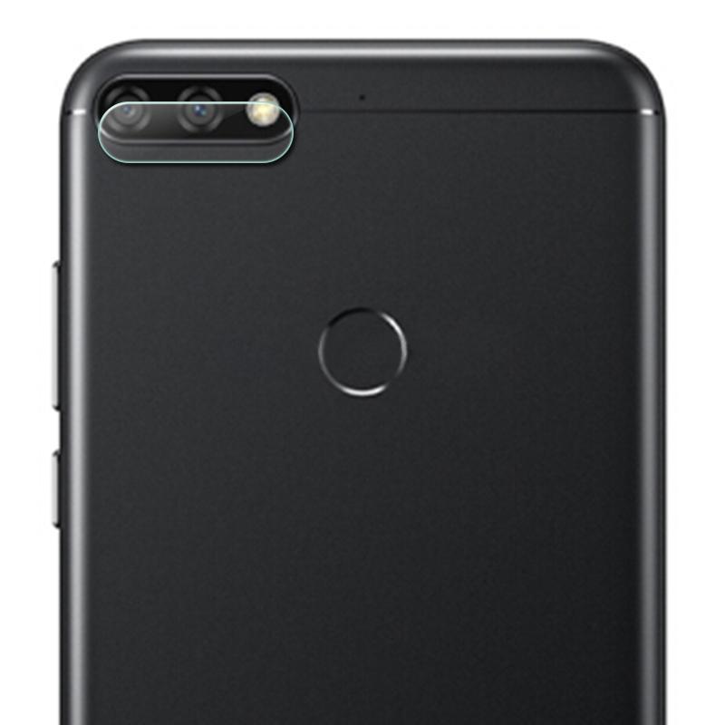 Afbeelding van 0.3mm 2.5D transparante achterkant Camera Lens Protector getemperd glas Film voor Huawei Honor 7C