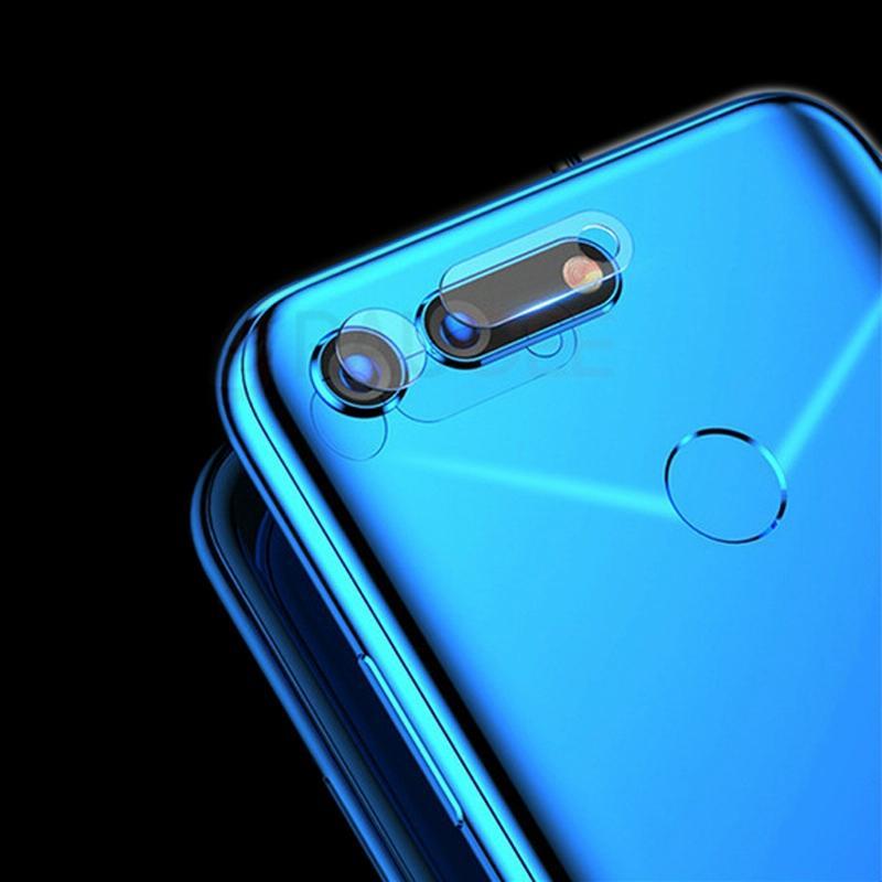 Afbeelding van 0.3mm 2.5D transparante achterkant Camera Lens Protector getemperd glas Film voor Huawei Honor weergave 20