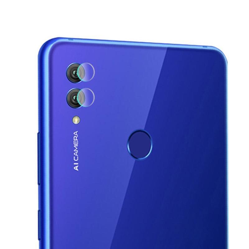 Afbeelding van 0.3mm 2.5D transparante achterkant Camera Lens Protector getemperd glas Film voor Huawei Honor 10 Lite